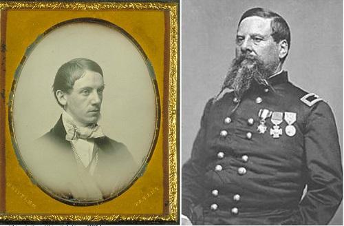 Paul Joseph Revere (left) and Joseph Warren Revere (right)