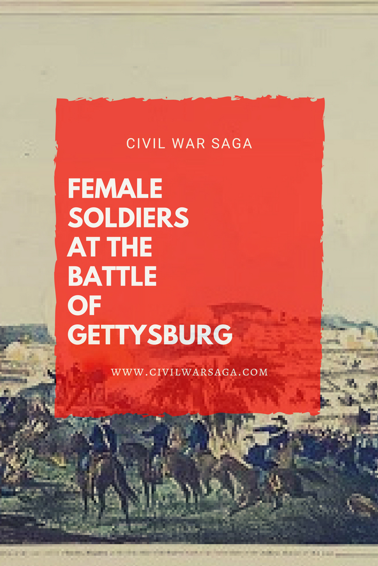 Female Soldiers at the Battle of Gettysburg