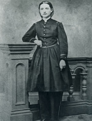 Dr. Mary Edwards Walker in 1863