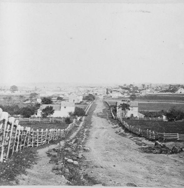 Gettysburg, circa 1868-1880