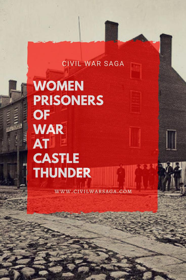 Women Prisoners of War at Castle Thunder