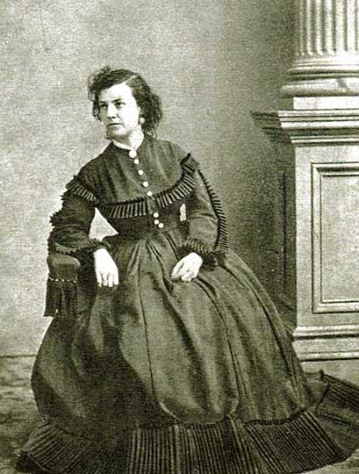 Union spy Pauline Cushman, circa 1855-1865