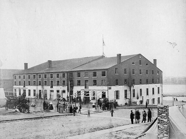 Libby Prison in 1865