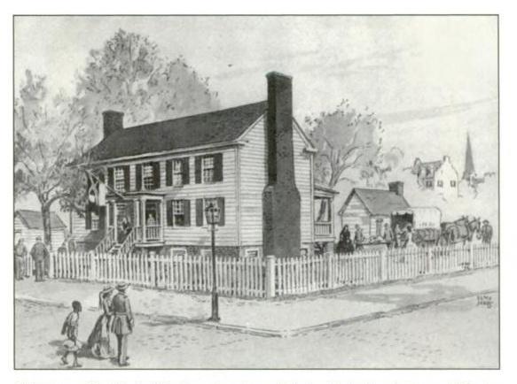 Illustration of Robertson Hospital in Richmond