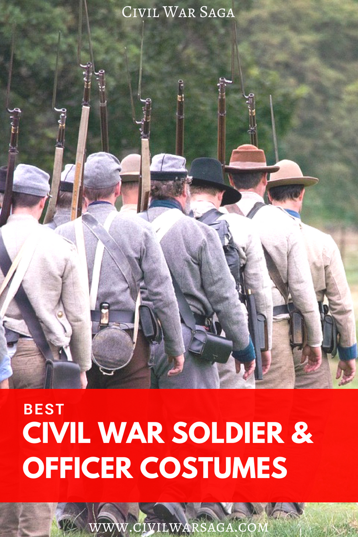Best Civil War Soldiers & Officer Costumes