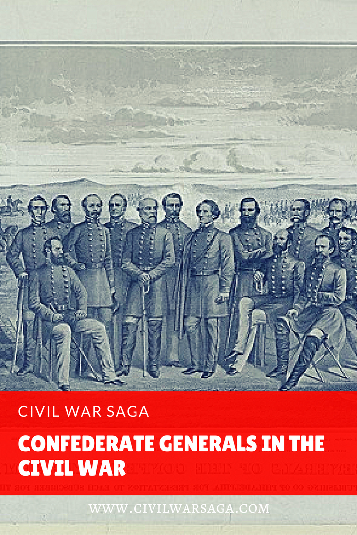 Confederate Generals in the Civil War