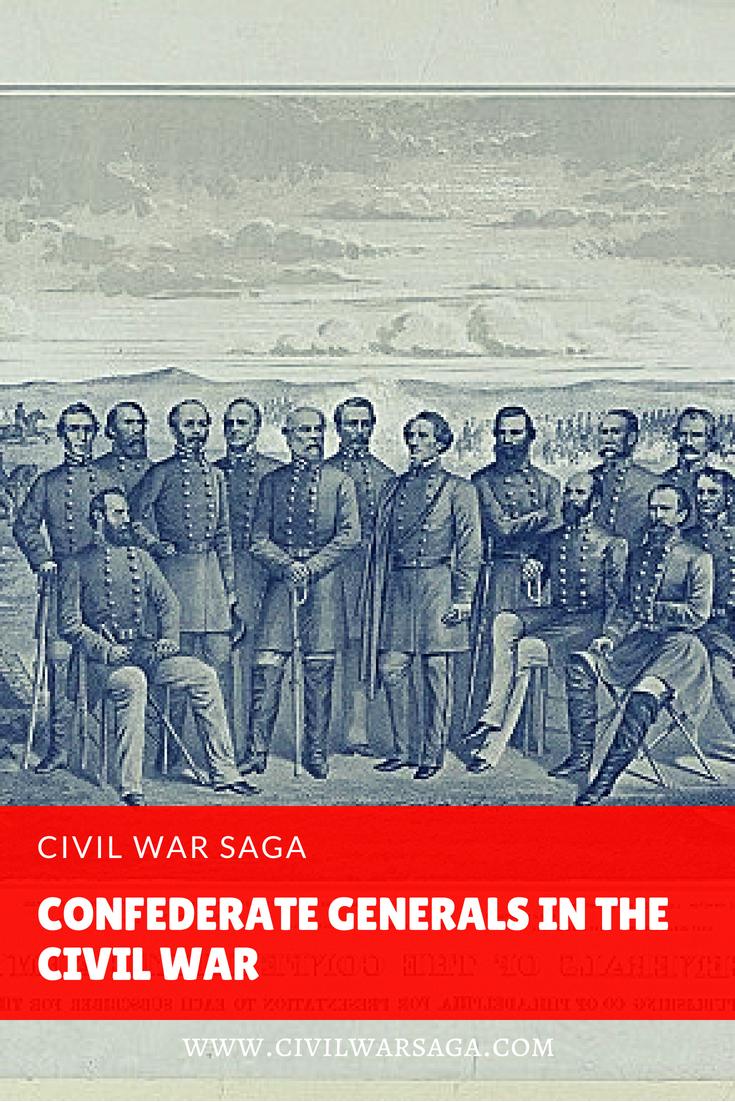 Confederate Generals in the Civil War