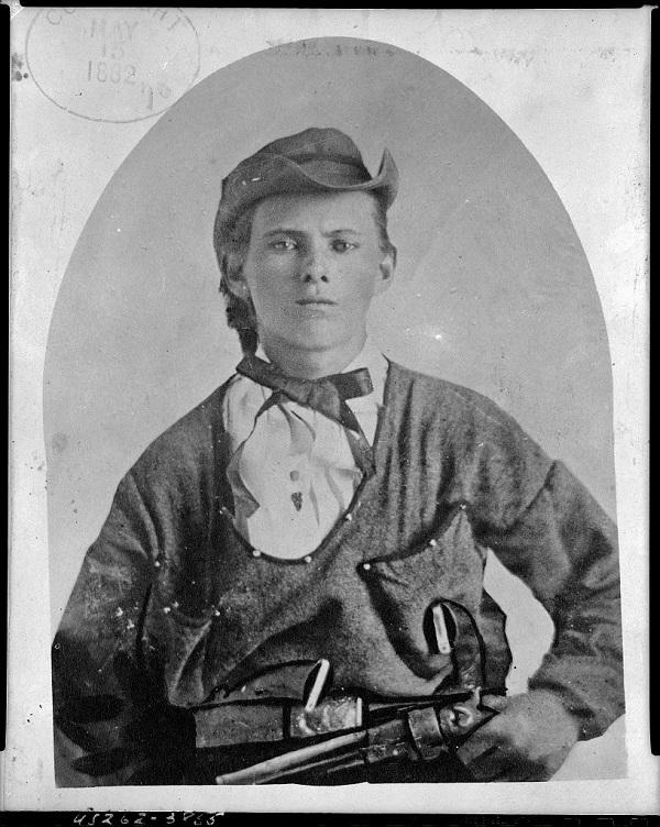 Jesse James circa 1864